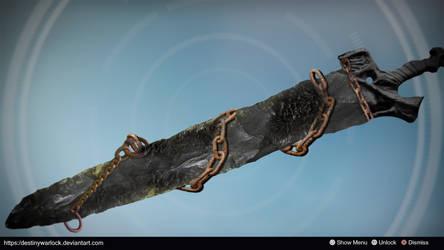 Night Cleaver: Sword Concept by Keegan Martinez by DestinyWarlock