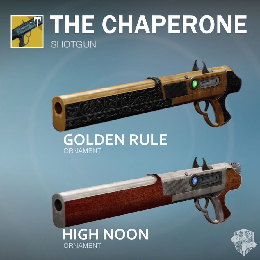 Chaperone Ornaments Concept By DestinyWarlock