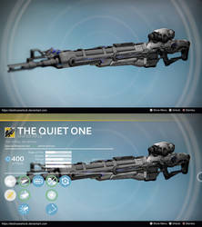 The Quiet One: Sniper Concept by MaestroEspada by DestinyWarlock