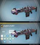 Ogre's Fury: Laser AR Concept by Cameron Broadby