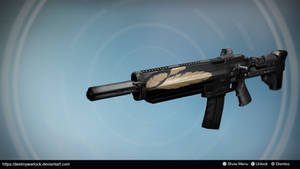 Shadowfeather: Exotic Auto Rifle Concept