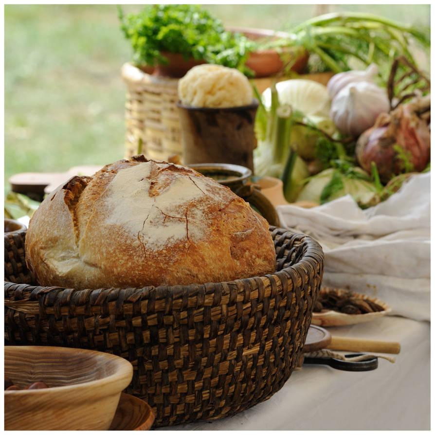 Medieval food by MissUmlaut