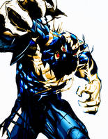 Sleeper Seventh Son of Venom (symbiote) by Mechalight