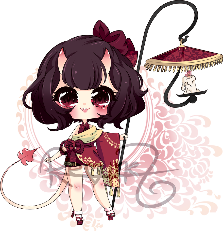 Demon Girl Design Adopt *CLOSED* by Reminel