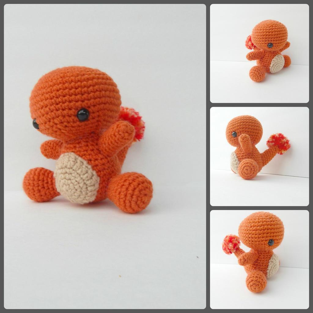 Amigurumi Today Cuddle Me Bear : Charmander Amigurumi by CuddleMeCreative on DeviantArt