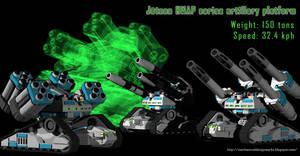 Jotunn HMAP Series Artillery System