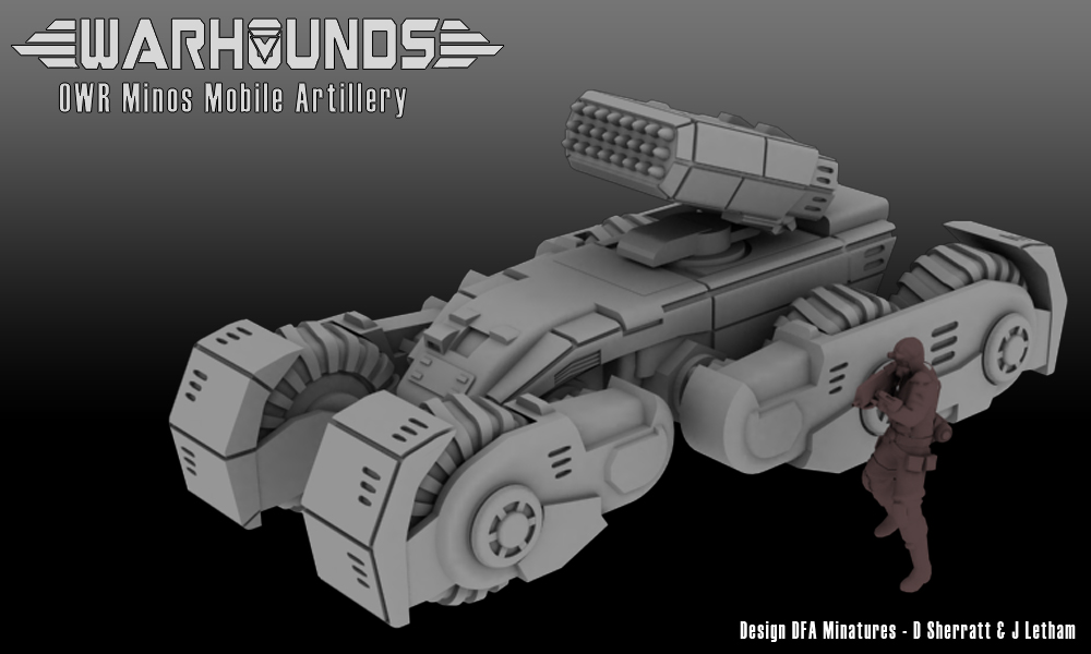 OWR Minos Mobile Artillery by dsherratt74