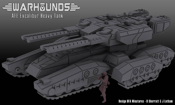 AFE Excalibur Heavy Tank