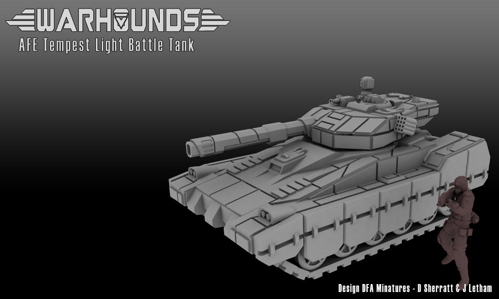 AFE Tempest Light Tank by dsherratt74