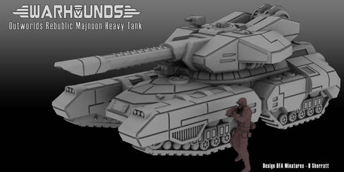 Outworlds Republic Majnoon Heavy Tank