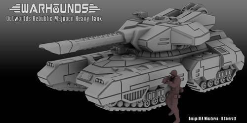 Outworlds Republic Majnoon Heavy Tank