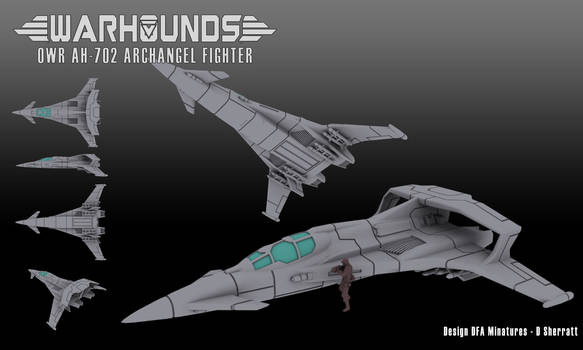 OWR Archangel Advanced Heavy Fighter