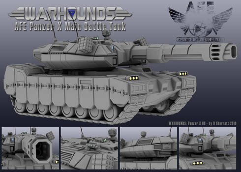 AFE Panzer X High Detail
