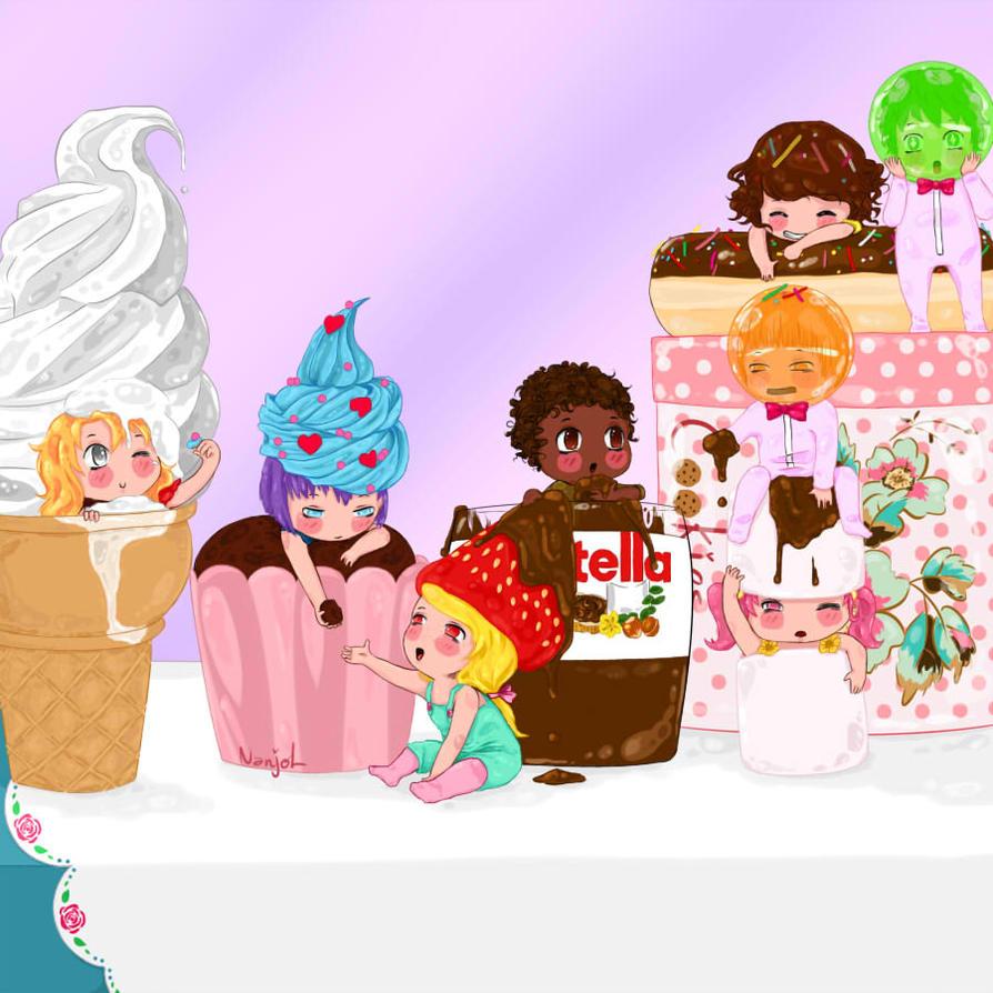 Sweets by Nanjol