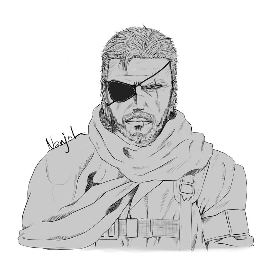 Snake Sketch by Nanjol