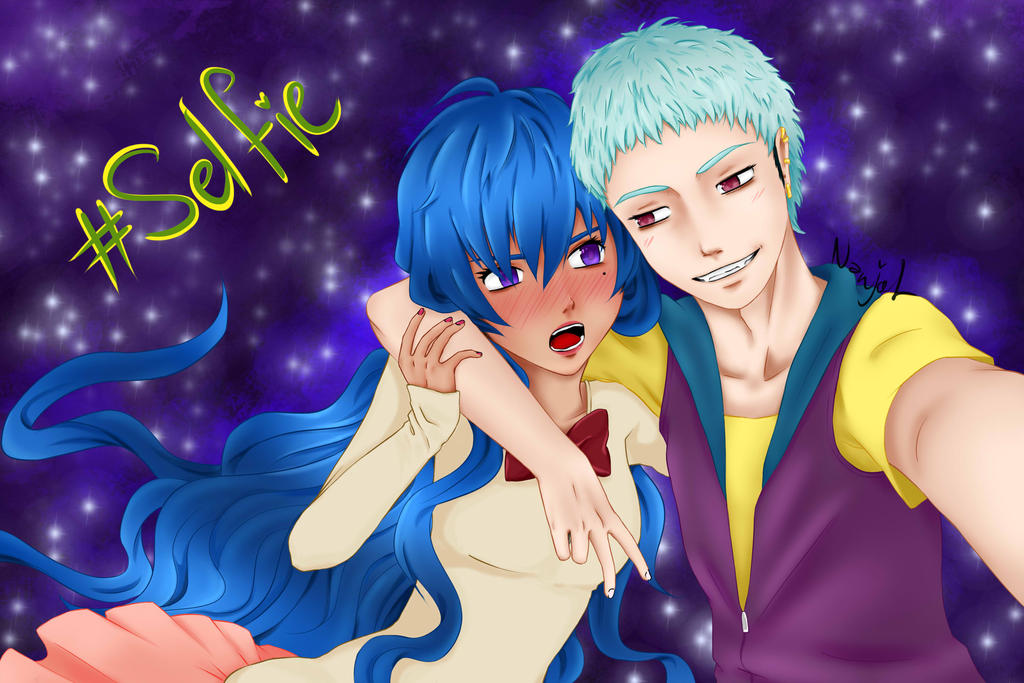 Brad and Aria by Nanjol