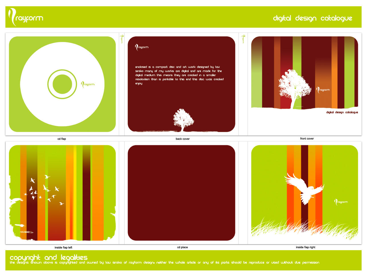 CD cover design by acronym16