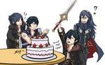 Happy Birthday Chrom!! by silif-art