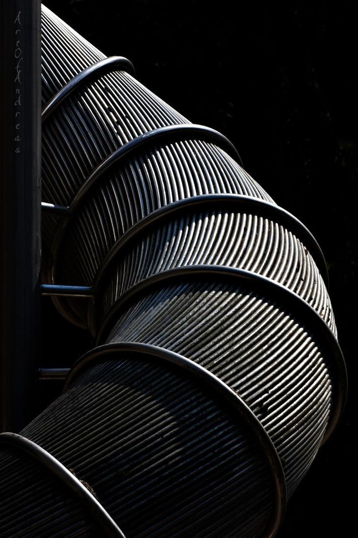 Sliding down the Lines by ArtOfAndreas