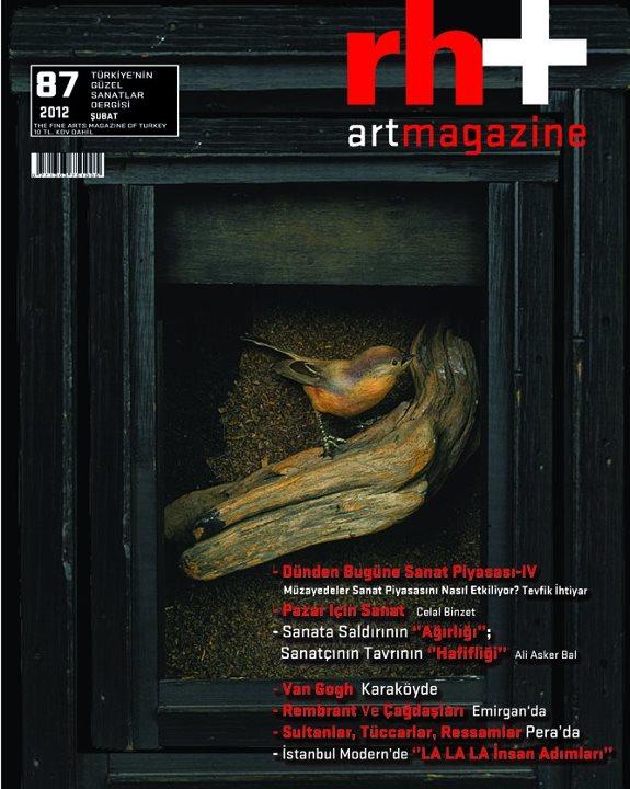 Rh+ Art Magazine by mervekahraman