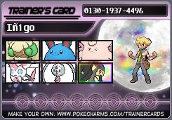 Fairy Gym Leader Inigo (Trainer Card) by DarmanInigo