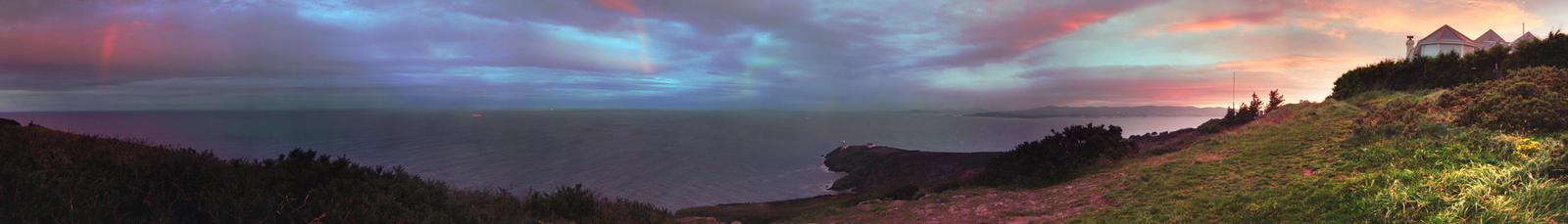 Howth Summit panorama