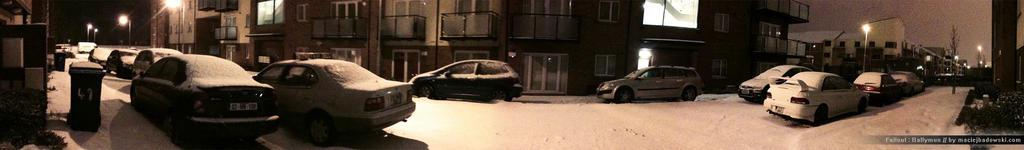 Snowy Mayeston Hall