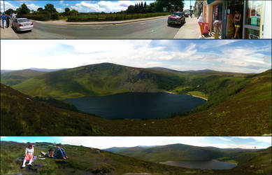 Lough Tay team by thielfer