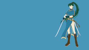 Lyndis Minimalist Wallpaper by Zetrem123