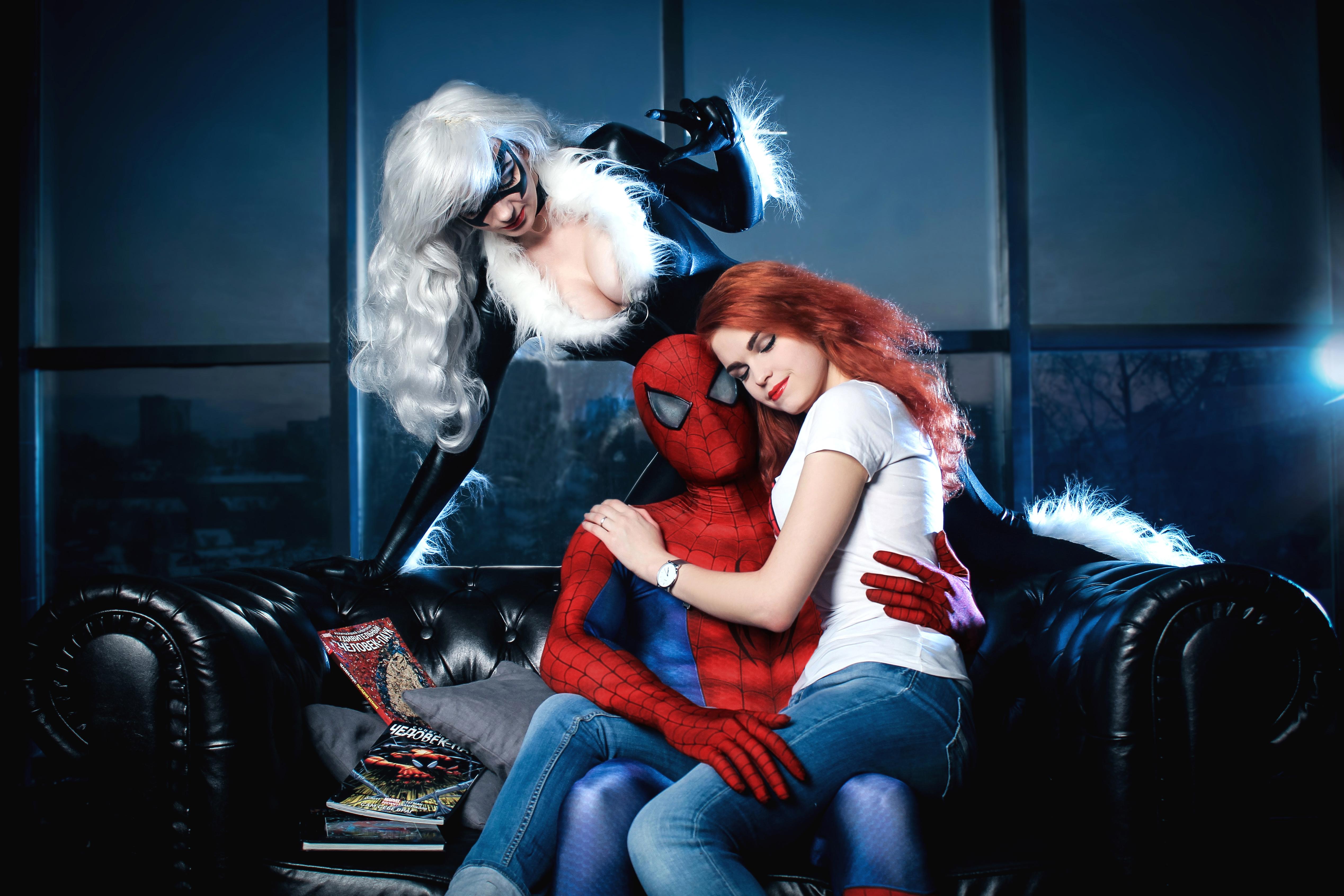 Black Cat Cosplay Spiderman