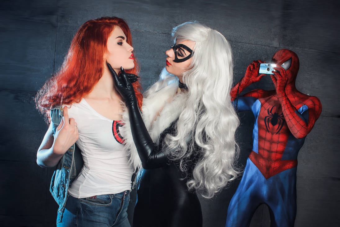 jane cosplay mary Spiderman
