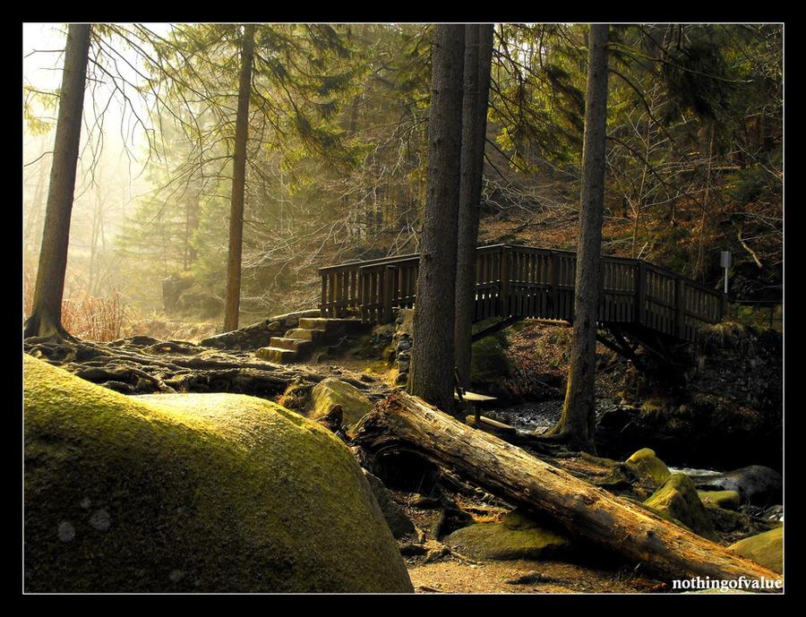 Bridge from a fairy tale