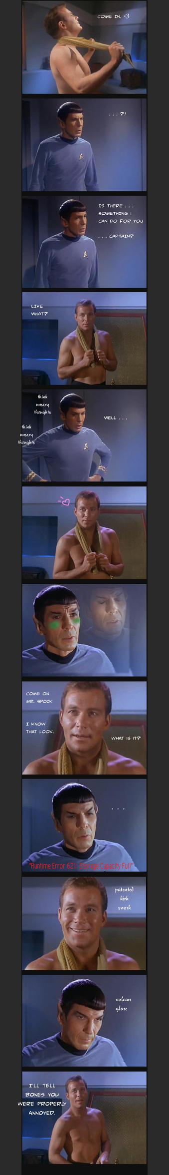 Spock's System Error by MonacoMac