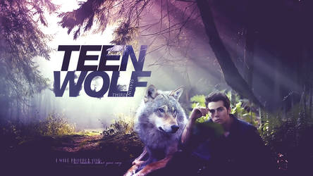 WALLPAPER TEEN WOLF by MPepina