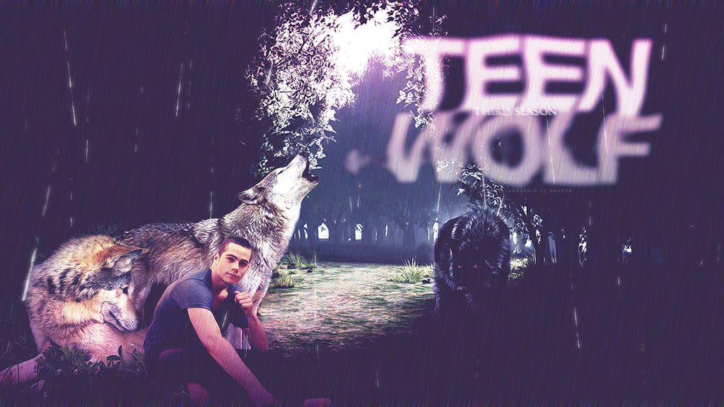 WALLPAPER TEEN WOLF 2 By MPepina