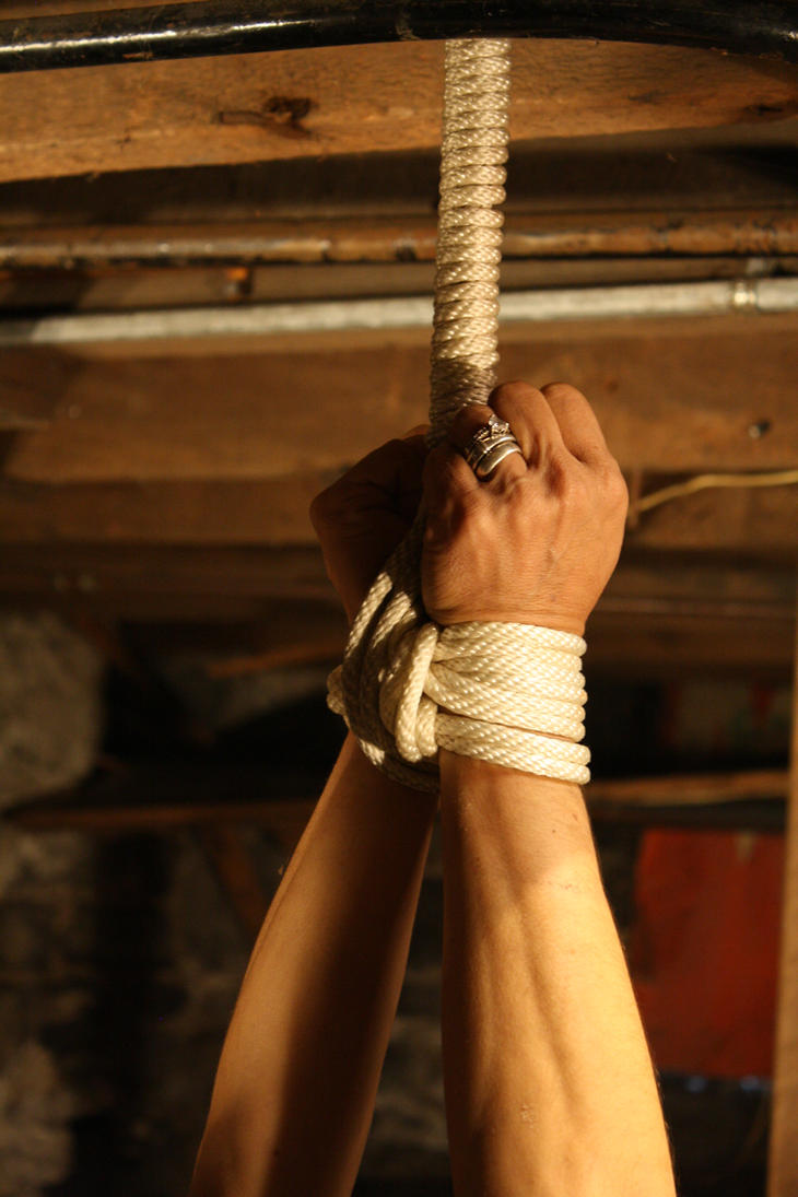 Eve's Hands Tightly Bound by imbok