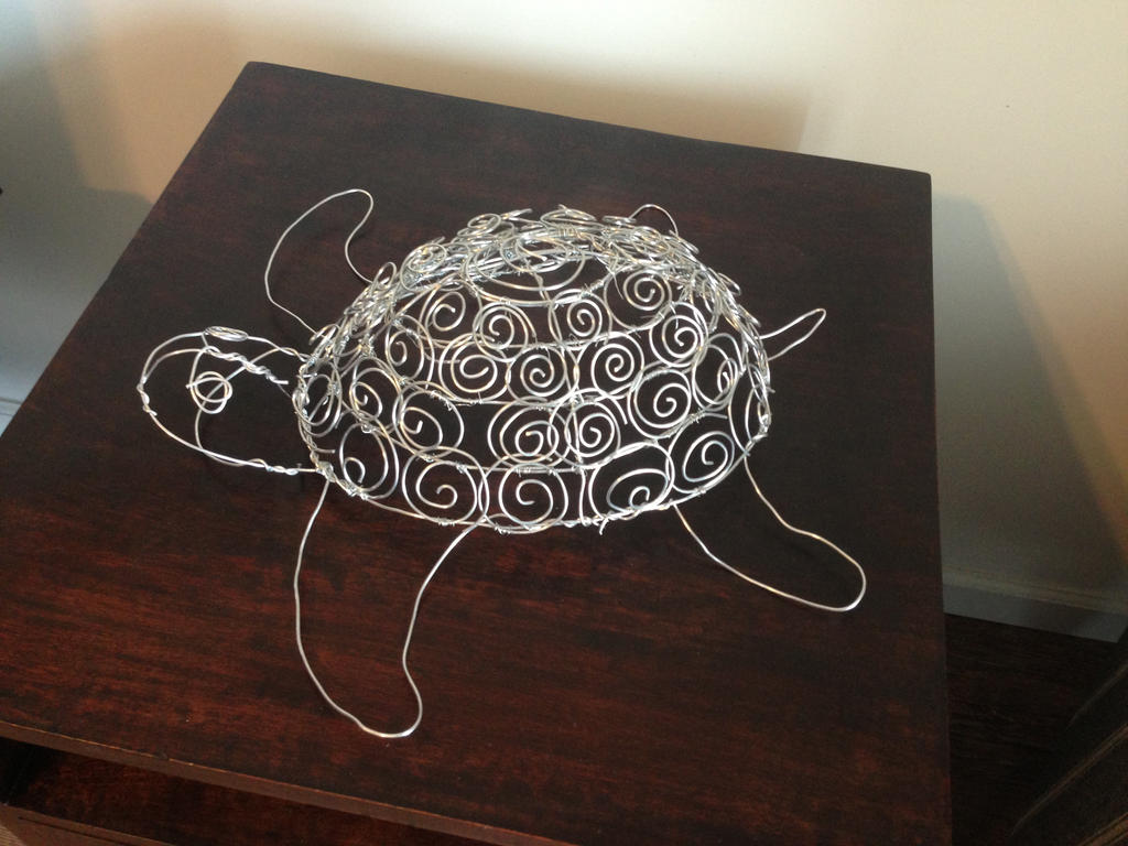 83 simple wire sculptures of animals 15 of the most for How to make a wire sculpture
