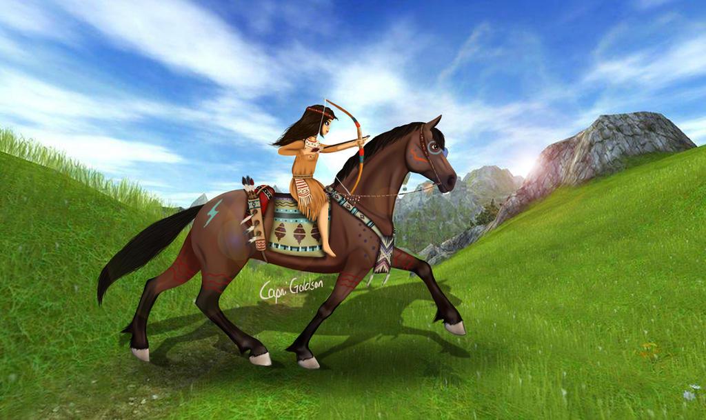 2018 Mustang Wallpaper >> SSO Native american edit by LupusLynx on DeviantArt