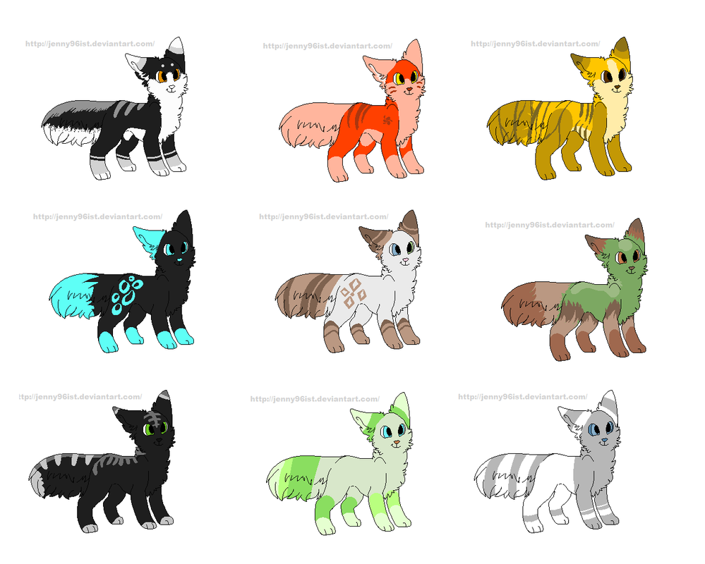 Adopts by jenny96ist-adopts
