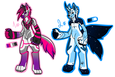 Anthro Wolves Adopt (OPEN 2/2) by SiXtia