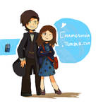 The doctor and Clara