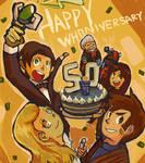 Happy 50th Whoniversary