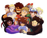 Fire House crew(From the Fanfiction What is Faith)