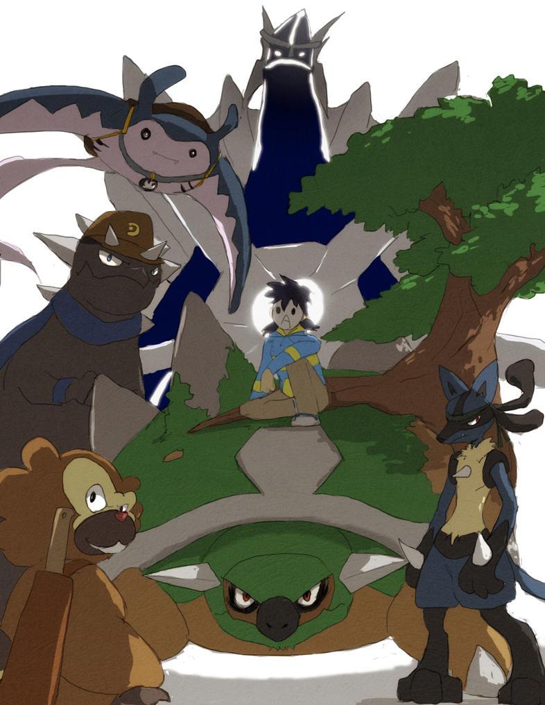 Meet my Sinnoh team by tunaniverse