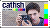 Catfish Fan Stamp Featuring Nev by CandyPom