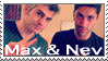 Max and Nev Stamp by CandyPom