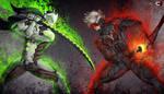 Genji vs Raiden by Zlirkexct94
