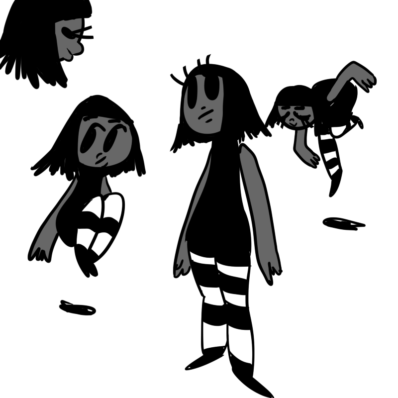 Vamp Girl by DinaDee64