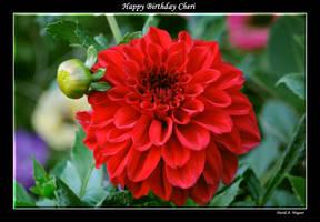 Happy Birthday Cheri by David-A-Wagner