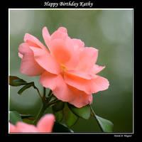 Happy Birthday Kathy by David-A-Wagner